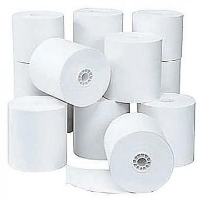 """Rouleaux de papier pour caisse enregistreuse - 1¾"""" x 3"""" -  100 par boîte"""