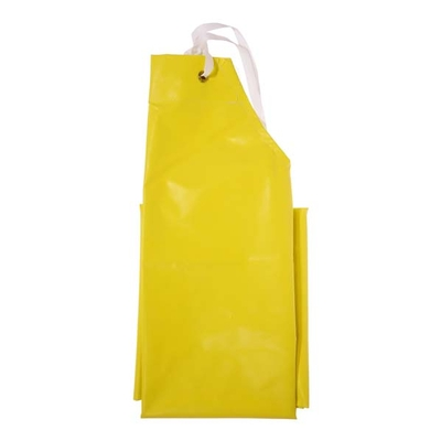 "Tablier en néoprène jaune robuste - 35""x 45"""