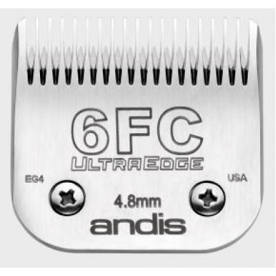 """Lame Andis # 6FC pour coupe de finition - 4,8 mm - 3/16"""""""