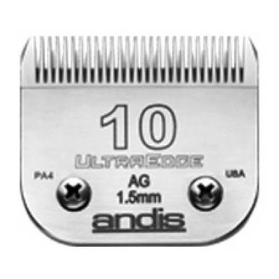 """Lame Andis # 10 pour coupe moyenne - 1,5 mm - 3/64"""""""