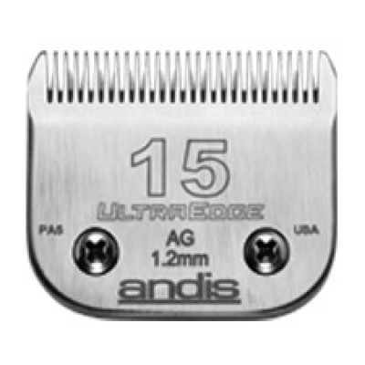 """Lame Andis # 15 coupe moyenne - 1,2 mm - 3/64"""""""
