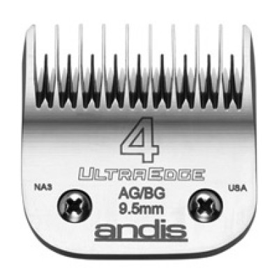 """Lame Andis # 4 pour coupe inégale - 9,5 mm - 3/8"""""""