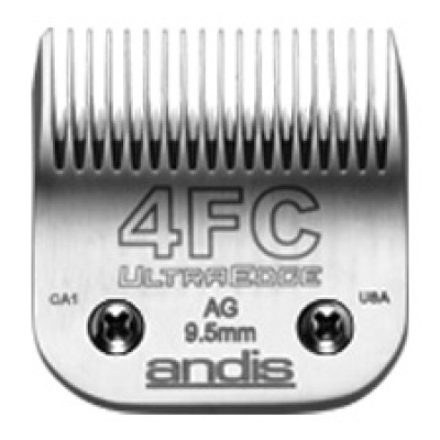 Lame Andis # 4FC pour coupe finition - 9,5 mm - 3/8""
