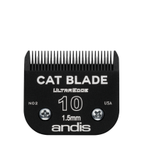 Lame Andis # 10 pour chat - 1,5 mm - 1/16""