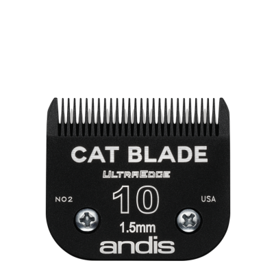 """Lame Andis # 10 pour chat - 1,5 mm - 1/16"""""""