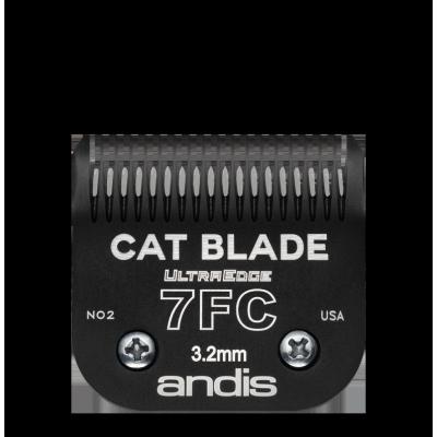"""Lame Andis # 7 FC pour chat - coupe de finition - 3,2 mm - 1/8"""""""