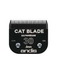 Lame Andis # 30 pour chat - 0,5 mm - 1/50""