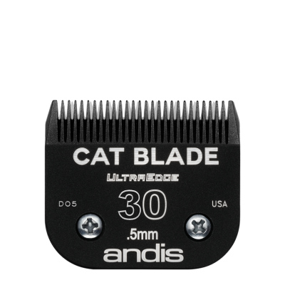 """Lame Andis # 30 pour chat - 0,5 mm - 1/50"""""""