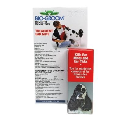 Bio-Groom Traitement pour les mites d'oreilles - 29 ml