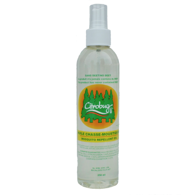 Chasse-moustiques Naturel Citrobug - 125 ml / 4 oz
