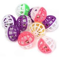 Balles treillis tintantes avec grelot - boîte de 48