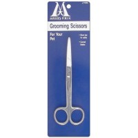 """Curved scissors for grooming care 6"""" - Miller Forge"""