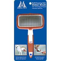 Self-Cleaning Soft Slicker Brush for dog - Small - Millers Forge