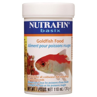 Nutrafin aliments pour poissons rouges - 24 g