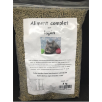Moulded with ingredient against pasteurellosis and coccidiosis, 2 kg resealable bag