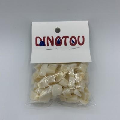Noix de coco, emballage de 30 g, avec étiquette pour suspendre