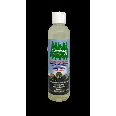 Gel Douche Corps et Cheveux à l'Épinette Noire - 250 ml - Citrobug