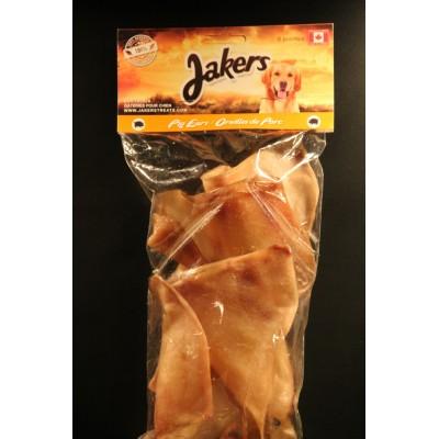 Oreilles de porc emballées