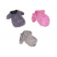 Chandail en coton pour chiens - choix de grandeurs et couleurs