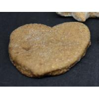 Biscuit en forme de coeur à la banane et noix de coco