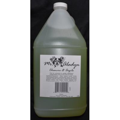 Shampooing Chanvre et Argile - 3.8 L - Mr. Aladyn