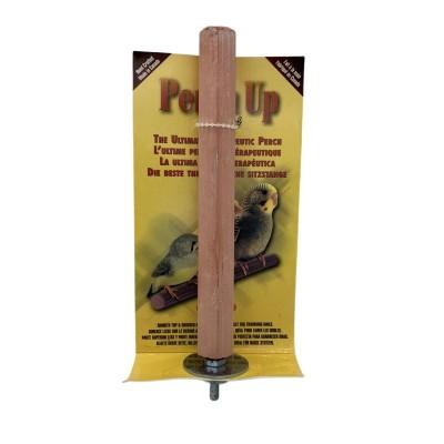 """Perchoir en ciment rainuré - 18 mm x 15 cm (¾"""" x 6"""") - PERCH UP - Couleurs variées"""