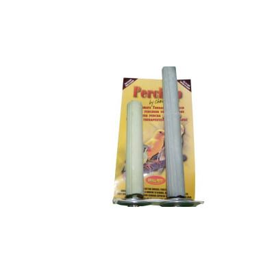 """Perchoir en combo en ciment rainuré - 18 mm x 10 cm (¾"""" x 4"""") + 18 mm x 15 cm (¾"""" x 6"""") - PERCH UP - Couleurs variées"""