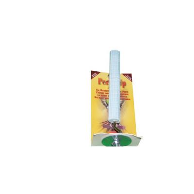"""Perchoir en ciment rainuré - 22 mm x 15 cm (1"""" x 6"""") - PERCH UP - Couleurs variées"""