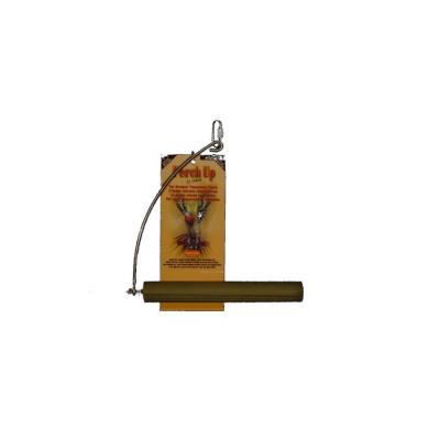 """Balançoire en ciment rainuré - 28 mm x 20 cm (1¼"""" x 8"""") - PERCH UP - Couleurs variées"""