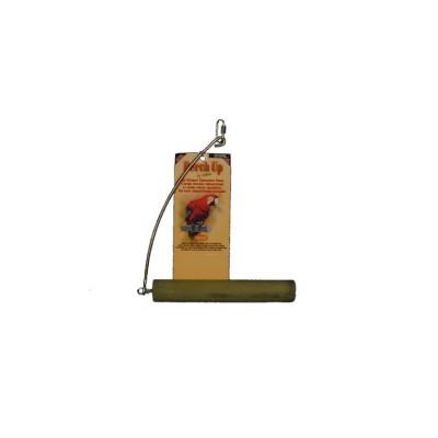 """Balançoire en ciment - 32 mm x 20 cm (1½"""" x 8"""") - PERCH UP - Couleurs variées"""