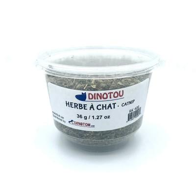 Herbe à chat séchée - contenant 1.27 oz / 36 g
