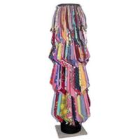 "Sonotube avec 320 foulards - 6' x 12"""