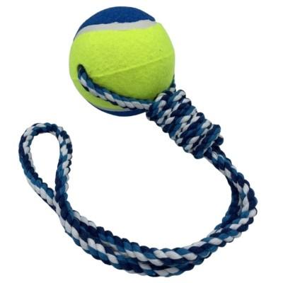 Jouet en corde avec grosse balle de tennis