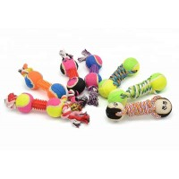 """Bone shaped toy for dogs 13.5"""" - Assorted colours"""