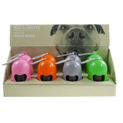 Distributeur de sacs pour déjections canines + 20 sacs
