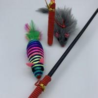 """Bâton corde avec souris - 47 cm (18.5"""") - Choix du modèle"""