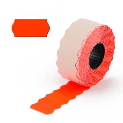 Étiquettes rouges modèle 2212 - 1 ligne - (9 x 1225)