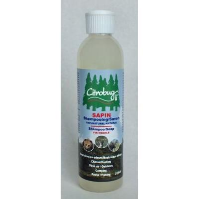 Gel Douche Corps et Cheveux Sapin Baumier - 250 ml - Citrobug