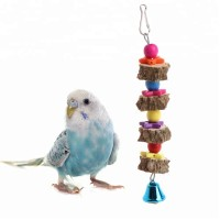 Wooden toy with bird bell  - 20 cm